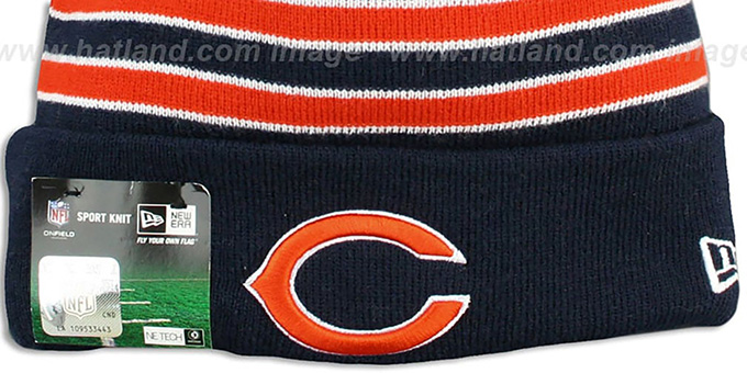 Bears 'STADIUM' Knit Beanie Hat by New Era