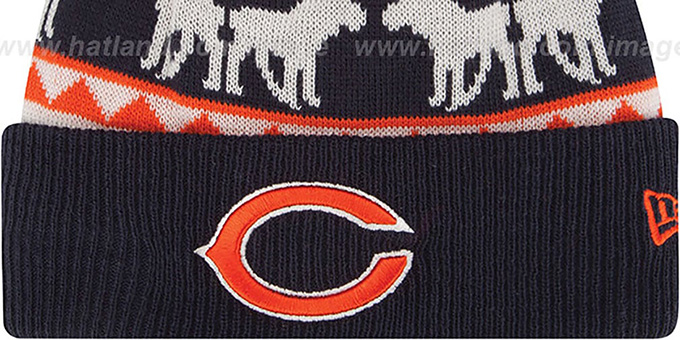 Bears 'THE-MOOSER' Knit Beanie Hat by New Era