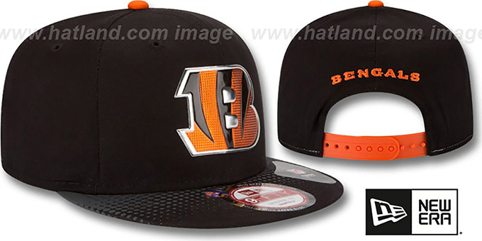 Bengals '2015 NFL DRAFT SNAPBACK' Black Hat by New Era