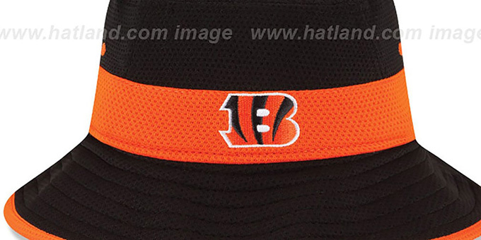 Bengals '2015 NFL TRAINING BUCKET' Black Hat by New Era