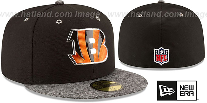 Bengals '2016 NFL DRAFT' Fitted Hat by New Era