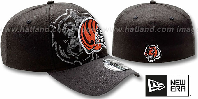 Bengals 'NFL BLACK-CLASSIC FLEX' Hat by New Era