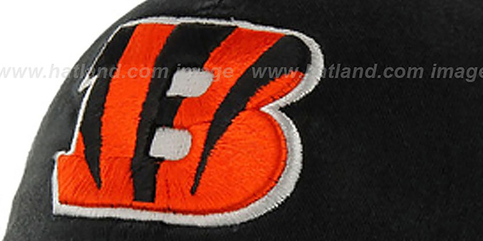 Bengals 'NFL FRANCHISE' Black Hat by 47 Brand