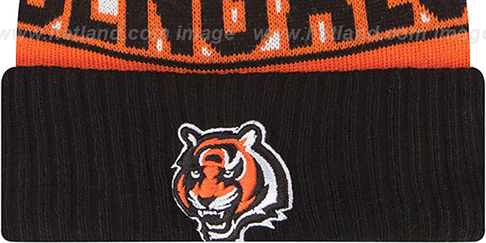 Bengals 'REP-UR-TEAM' Knit Beanie Hat by New Era