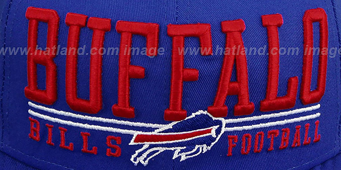 Bills 'NFL LATERAL SNAPBACK' Royal Hat by New Era