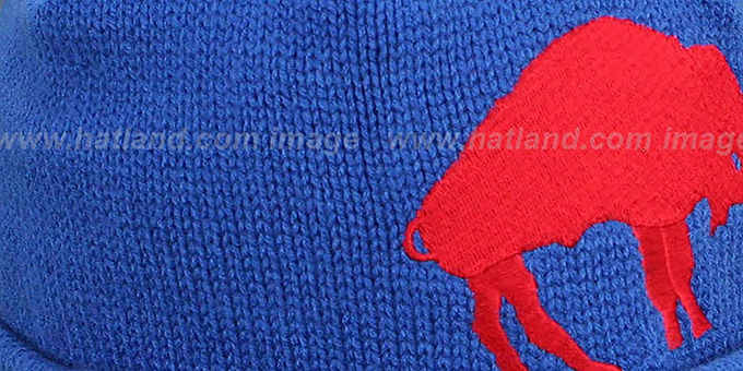 Bills 'XL-LOGO BEANIE' Royal by Mitchell and Ness