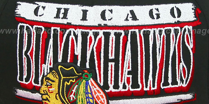 Blackhawks '2T STILL BREAKIN SNAPBACK' Black-Red Hat by New Era