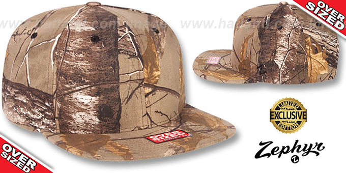 Blank 'OVER-SIZED SNAPBACK' Realtree Hat by Zephyr