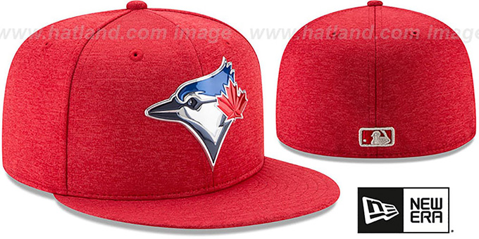 Blue Jays '2017 JULY 4TH STARS N STRIPES' Fitted Hat by New Era