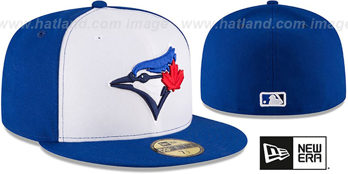 ba4694fe36a Toronto Blue Jays AC-ONFIELD ALTERNATE-3 Hat by New Era