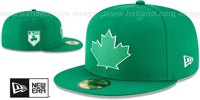 Blue Jays '2018 ST PATRICKS DAY' Hat by New Era