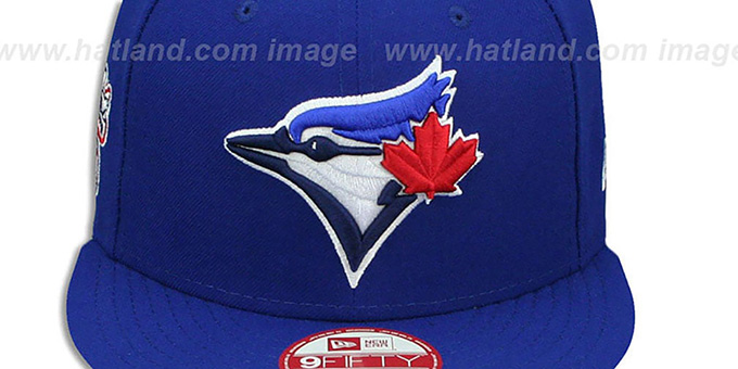 Blue Jays 'LEAGUE REPLICA GAME SNAPBACK' Hat by New Era