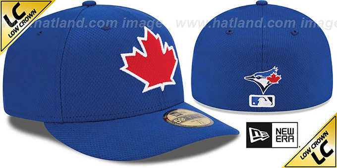 Blue Jays 'LOW-CROWN' ALTERNATE-2 Fitted Hat by New Era