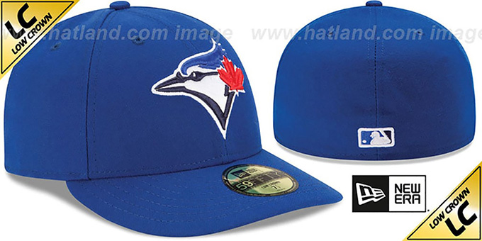 Blue Jays 'LOW-CROWN' GAME Fitted Hat by New Era
