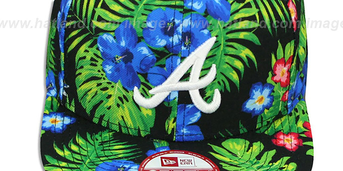 Braves 'BLOOM SNAPBACK' Hat by New Era