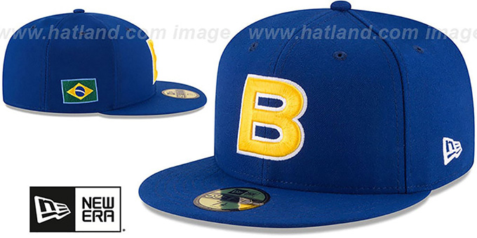 Brazil 'PERFORMANCE WBC-2' Royal Hat by New Era