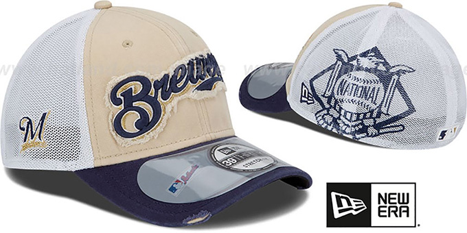 Brewers '2013 CLUBHOUSE' 39THIRTY Flex Hat by New Era