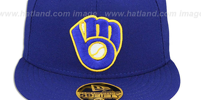 Brewers 'YOUNT' Home Hat by New Era