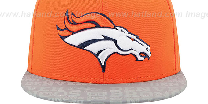 Broncos '2014 NFL DRAFT' Orange Fitted Hat by New Era