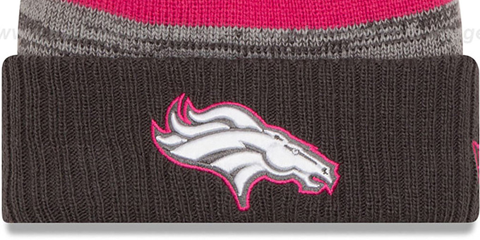 Broncos '2016 BCA STADIUM' Knit Beanie Hat by New Era