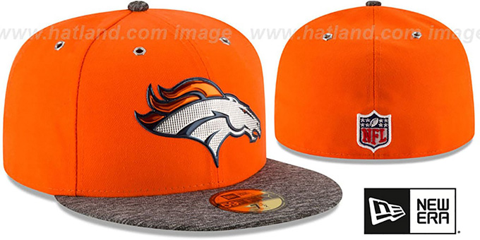 Denver Broncos 2016 NFL DRAFT Fitted Hat by New Era 29b5557bea6