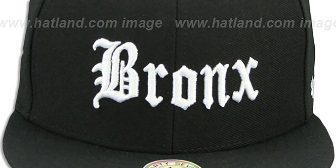 Bronx 'GOTHIC PAISLEY SNAPBACK' Adjustable Hat by Twins 47 Brand