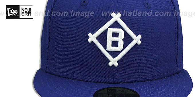4c4f1372945f26 Brooklyn Dodgers 1912 COOPERSTOWN Fitted Hat by New Era