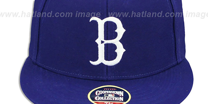 Brooklyn Dodgers '1939 COOPERSTOWN ' Fitted Hat by Twins 47 Brand