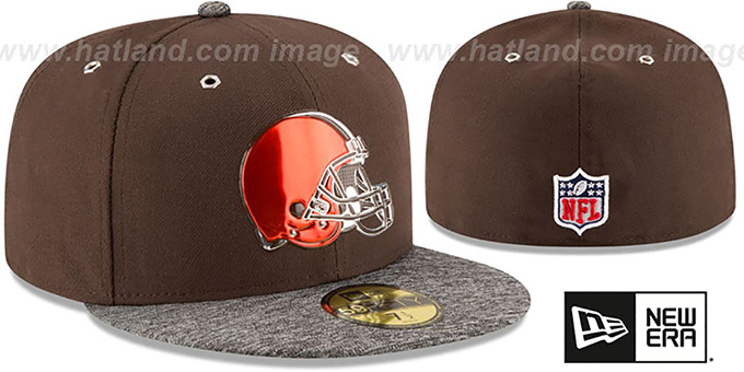 Browns '2016 NFL DRAFT' Fitted Hat by New Era