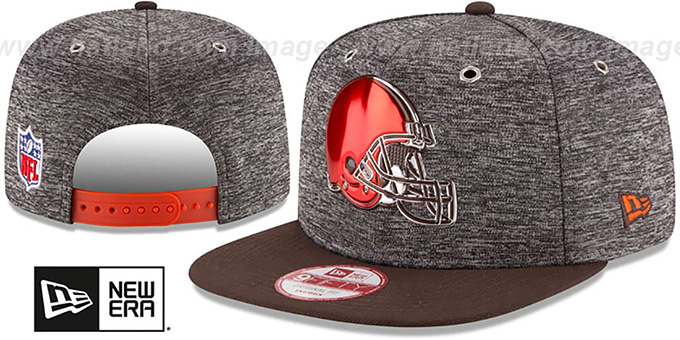 Browns '2016 NFL DRAFT SNAPBACK' Hat by New Era