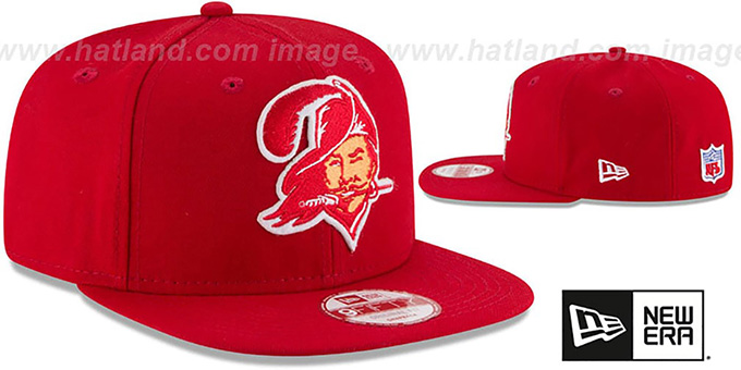 Buccaneers 'RETRO-BASIC SNAPBACK' Red Hat by New Era
