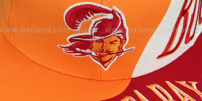 Buccaneers 'THE SKEW SNAPBACK' Hat by Mitchell & Ness