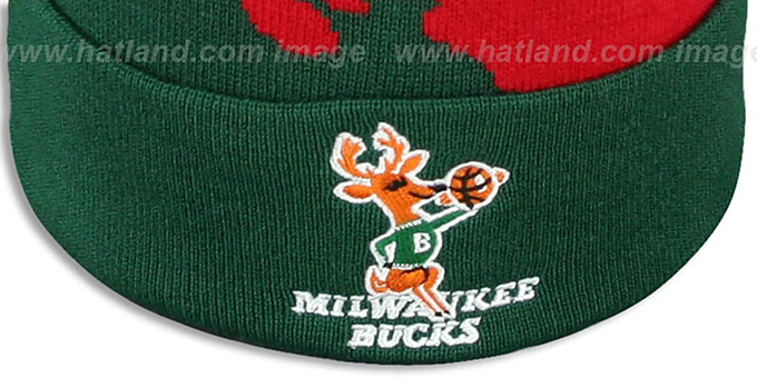 Bucks 'PAINTBRUSH BEANIE' by Mitchell and Ness