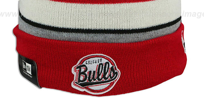Bulls 'WINTER TRADITION' Knit Beanie Hat by New Era