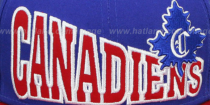 Canadiens 'STOKED SNAPBACK' Royal-Red Hat by New Era