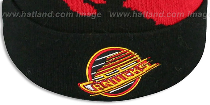 Canucks 'PAINTBRUSH BEANIE' by Mitchell and Ness