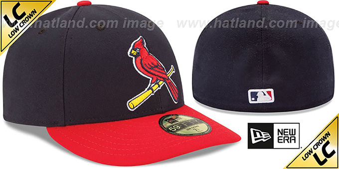 Cardinals 'LOW-CROWN' ALTERNATE-2 Fitted Hat by New Era