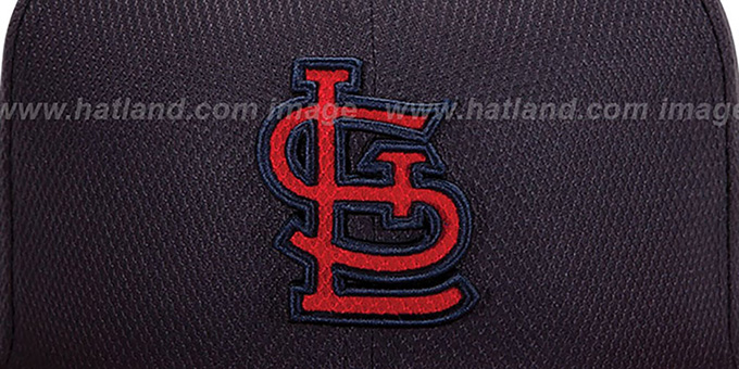 Cardinals 'MLB DIAMOND ERA' 59FIFTY Navy-Red BP Hat by New Era