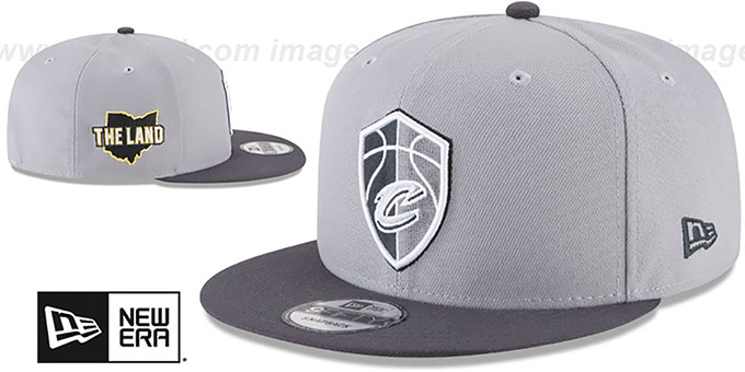 Cavaliers 'CITY-SERIES SNAPBACK' Grey-Grey Hat by New Era