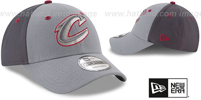 Cavaliers 'THE-LEAGUE GREY-POP STRAPBACK' Hat by New Era