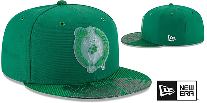 90d1c88e ... Celtics '2018 NBA ONCOURT ALL-STAR' Green Fitted Hat by New Era ...