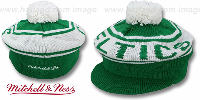 Celtics 'RERUN KNIT BEANIE' by Mitchell and Ness