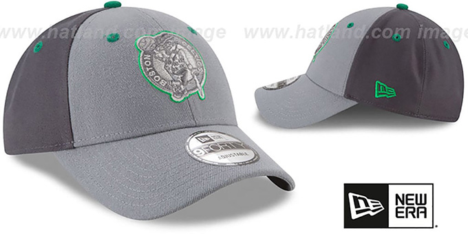 Celtics 'THE-LEAGUE GREY-POP STRAPBACK' Hat by New Era