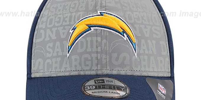 Chargers '2014 NFL DRAFT FLEX' Navy Hat by New Era