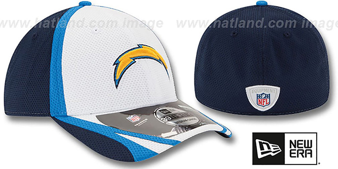 Chargers '2014 NFL TRAINING FLEX' White Hat by New Era