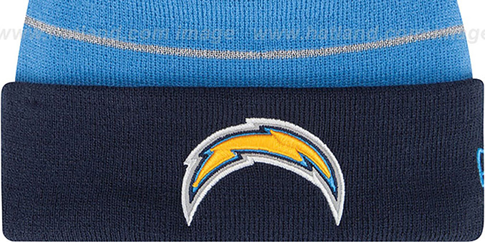 Chargers 'THANKSGIVING DAY' Knit Beanie Hat by New Era