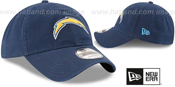 Chargers 'CORE-CLASSIC STRAPBACK' Navy Hat by New Era