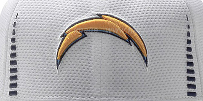 Chargers 'NFL TRAINING FLEX' White Hat by New Era