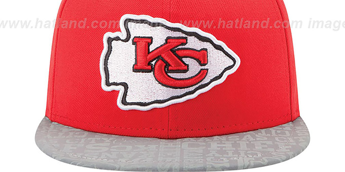 Chiefs '2014 NFL DRAFT' Red Fitted Hat by New Era