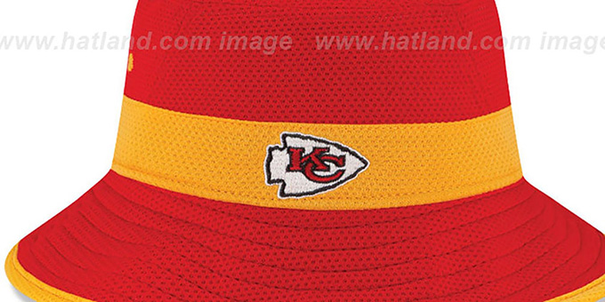 Chiefs '2015 NFL TRAINING BUCKET' Red Hat by New Era